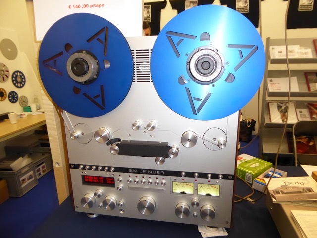 Getting Real The New Ballfinger M 063 Reel To Reel Tape Player At