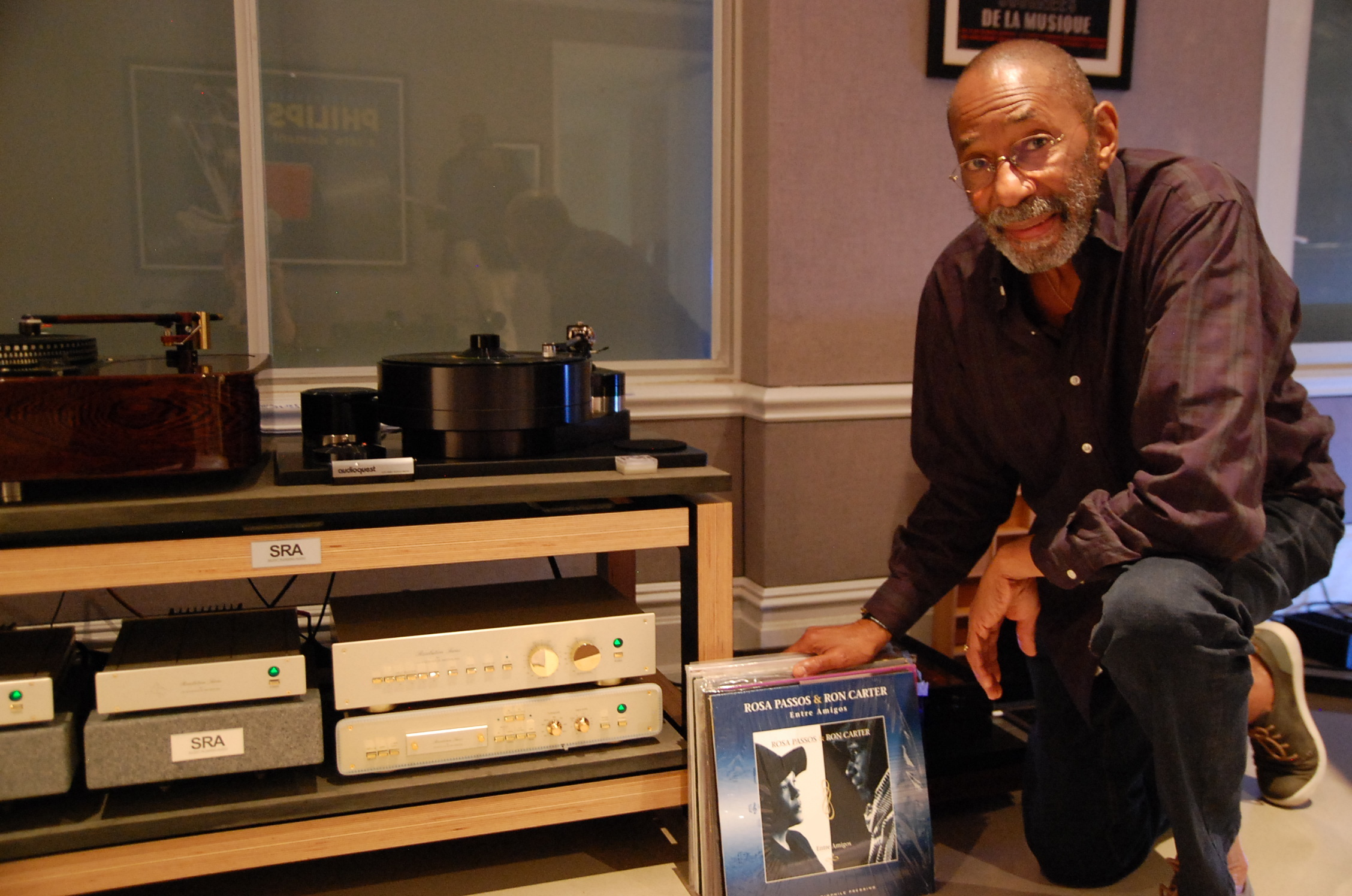 Audioarts Hosts Jazz Legend Ron Carter - Audionirvana org